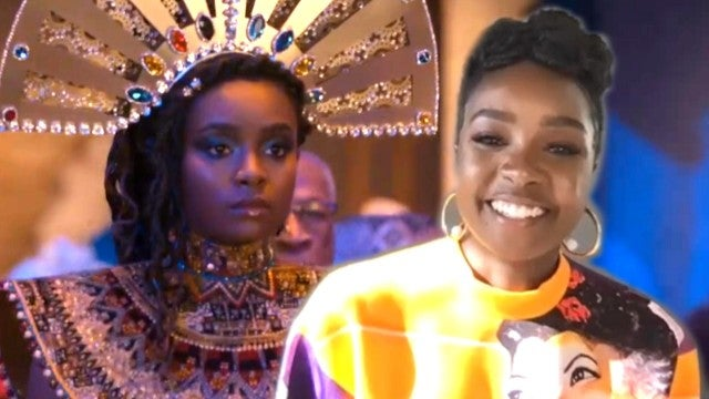'Coming 2 America' Kiki Layne on What She Learned From Eddie Murphy