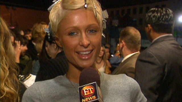 Paris Hilton Takes the Red Carpet and Interviews Christina Aguilera at 2003 Fashion Show (Flashback)