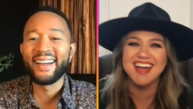 'The Voice': John Legend and Kelly Clarkson on If Their Kids Will Pursue Music Careers (Exclusive)