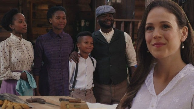 'When Calls the Heart': Watch Elizabeth Meet Joseph, Minnie, Angela and Cooper Canfield (Exclusive)