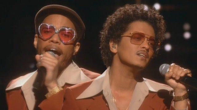GRAMMYs 2021: Watch Bruno Mars and Anderson .Paak's Sultry Silk Sonic Debut