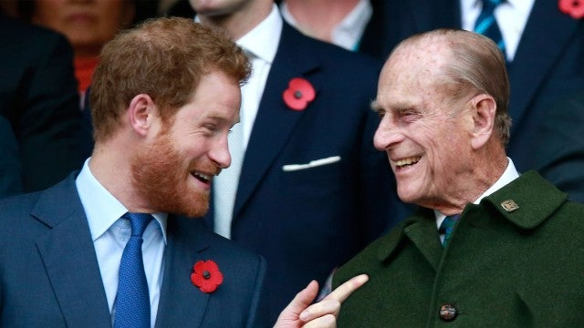 How Prince Harry Is Dealing With Grandfather Prince Philip's Death