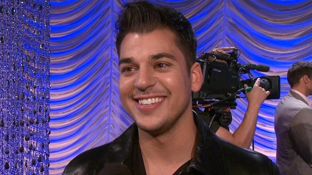Rob Kardashian Takes ET Behind the Scenes of His 'Dancing With the Stars' Journey (Flashback)