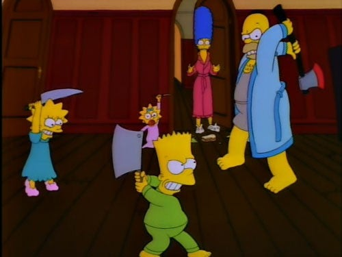 Halloween Simpsons Treehouse Of Horror.12 Truly Scary Simpsons Treehouse Of Horror Segments
