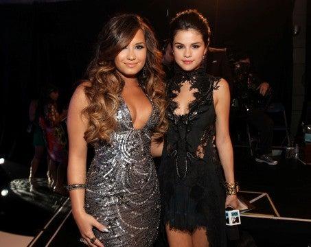 Selena Gomez Demi Lovato Miley Cyrus
