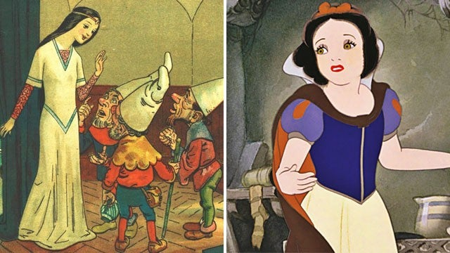 Disney vs. Grimm
