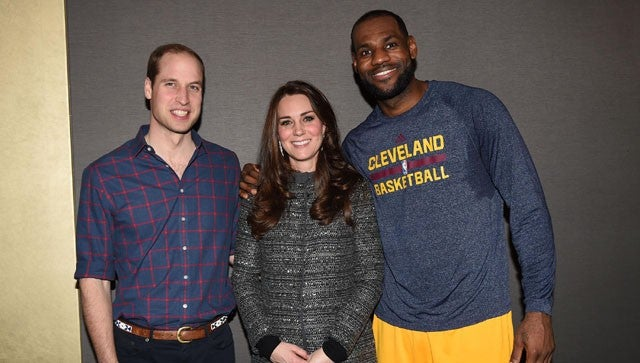 34f26a69163e LeBron James Committed a Royal Foul When He Met William and Kate ...