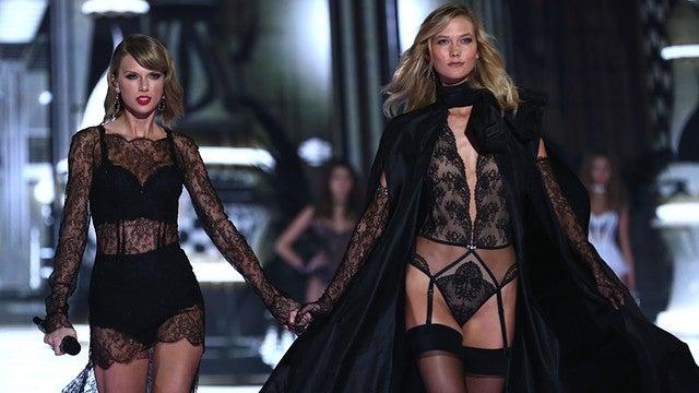 7a1d32a5ae Did Taylor Swift Out-Victoria s Secret the Actual Victoria s Secret ...