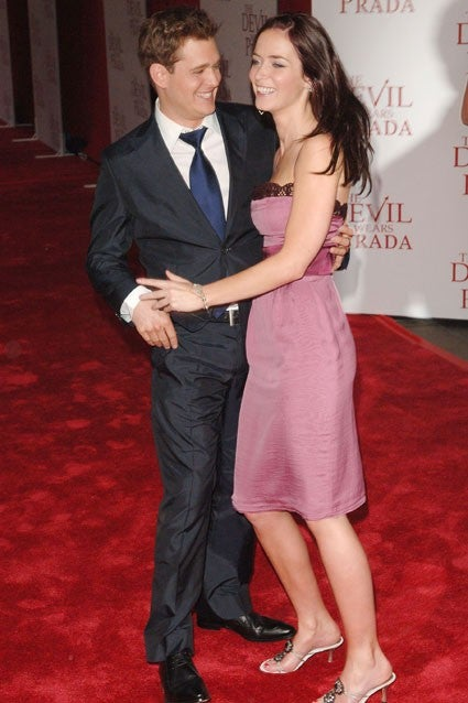 Michael Buble Emily Blunt S Ex Admits He Was A Jerk