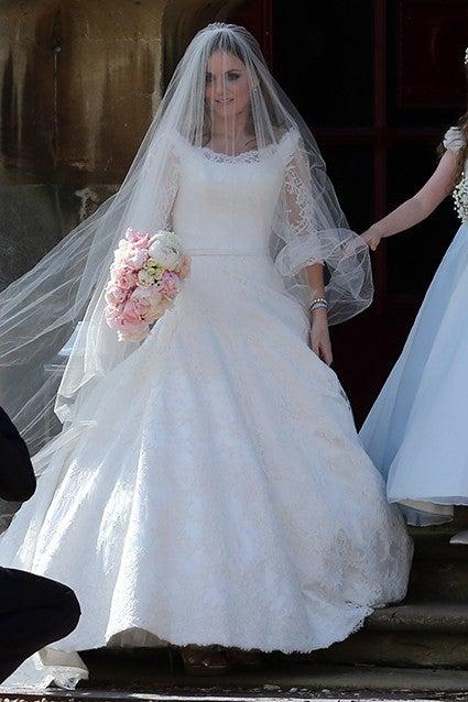 Geri Halliwell Is A Beautiful Bride In Extravagant Wedding