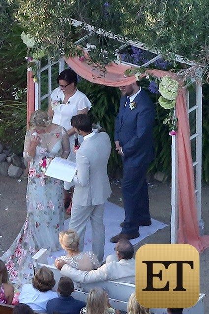 Jennie Garth Wedding 2015