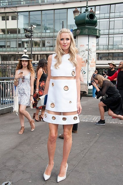 Nicky Hilton Bares Her Butt In Serious Versace Wardrobe Malfunction Entertainment Tonight