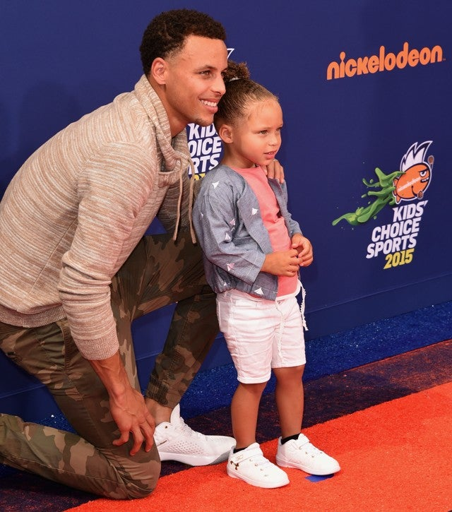 4ed9302c5874 Riley Curry Was Obviously the Best Part of Nickelodeon s Kids ...
