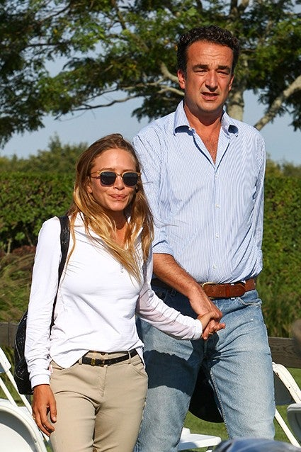 Mary Kate Olsen 29 And Fiance Olivier Sarkozy 46 Hold Hands In