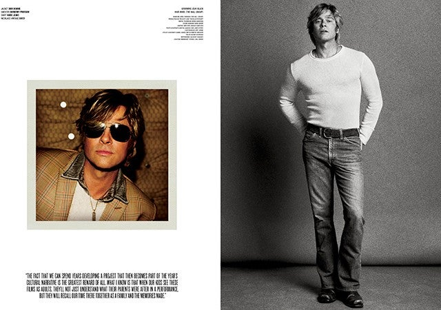 Brad Pitt Channels Robert Redford And Looks Hotter Than Ever In Sexy New Photoshoot