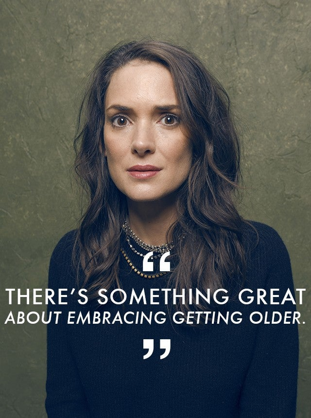 Winona Ryder Feels Liberated to Play Her Age -- Even If ...