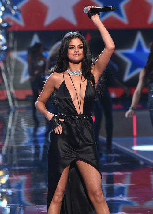 Selena Gomez Shows Serious Skin In Sexy Revealing Black