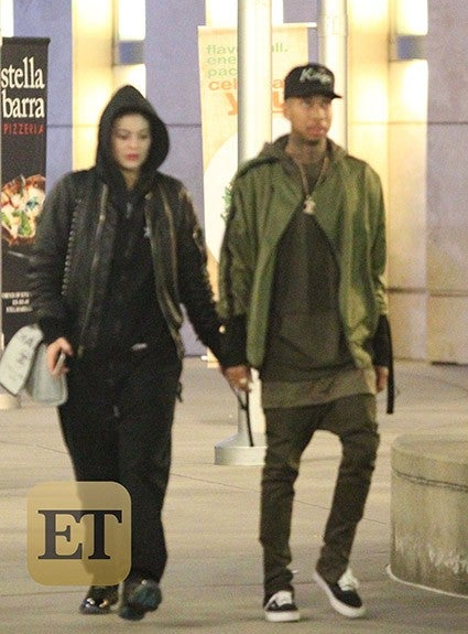Tyga Cheating On Kylie Jenner With 35 Year Old Video Vixen: EXCLUSIVE: Kylie Jenner And Tyga Step Out For Date Night