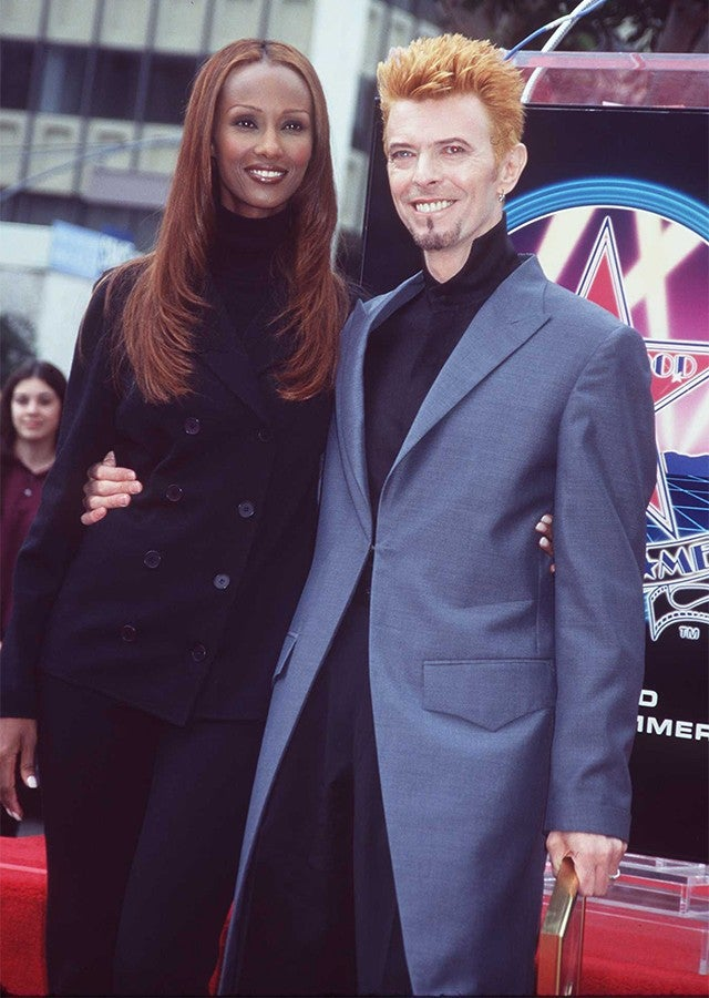 david bowie and iman a timeline of their whirlwind 26 year romance entertainment tonight. Black Bedroom Furniture Sets. Home Design Ideas