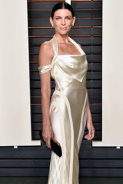 Liberty Ross Wore Her Wedding Dress To The Vanity Fair Oscars Party