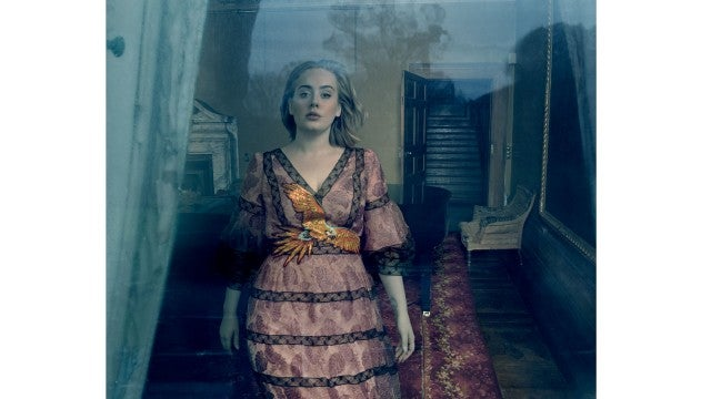 Adele shows off weight loss in stunning vogue shoot i fit into vogue ccuart Image collections