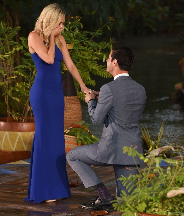 the bachelor finale did ben higgins propose to lauren