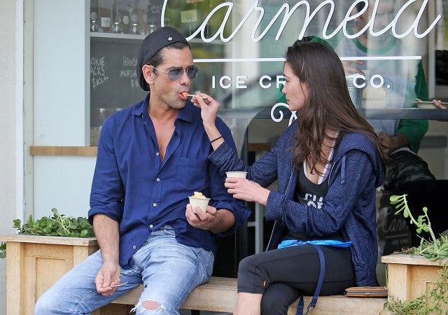 John Stamos And New Girlfriend Caitlin Mchugh Step Out For