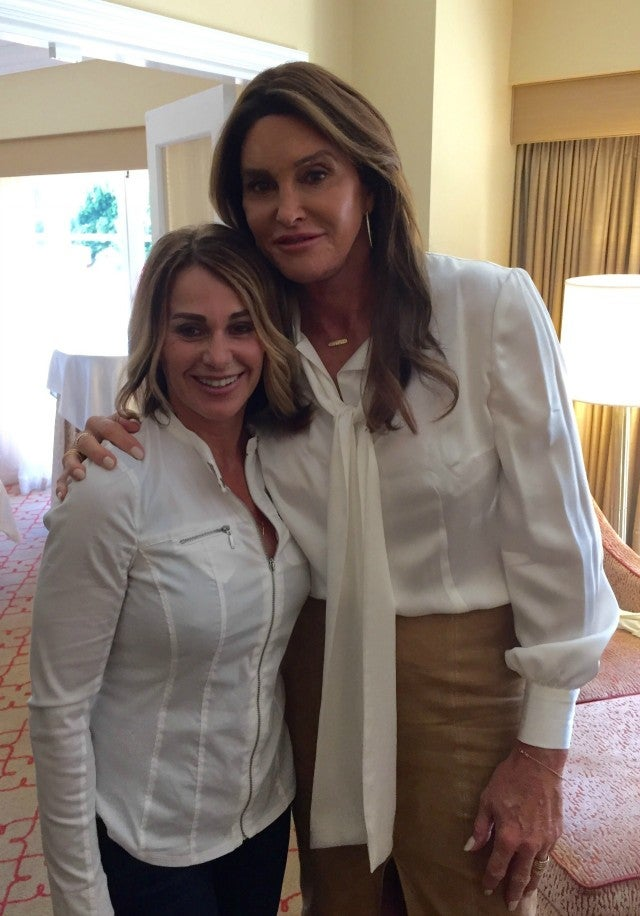Caitlyn Jenner And Nadia Comaneci Meet For The First Time