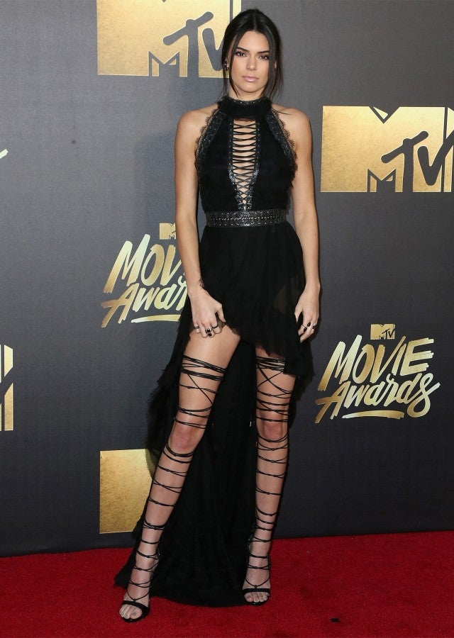 Charlize Theron And Kendall Jenner Slay The Mtv Movie