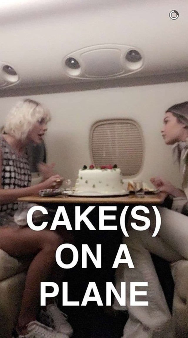 Gigi Hadid Celebrates Her 21st Birthday With Taylor Swift