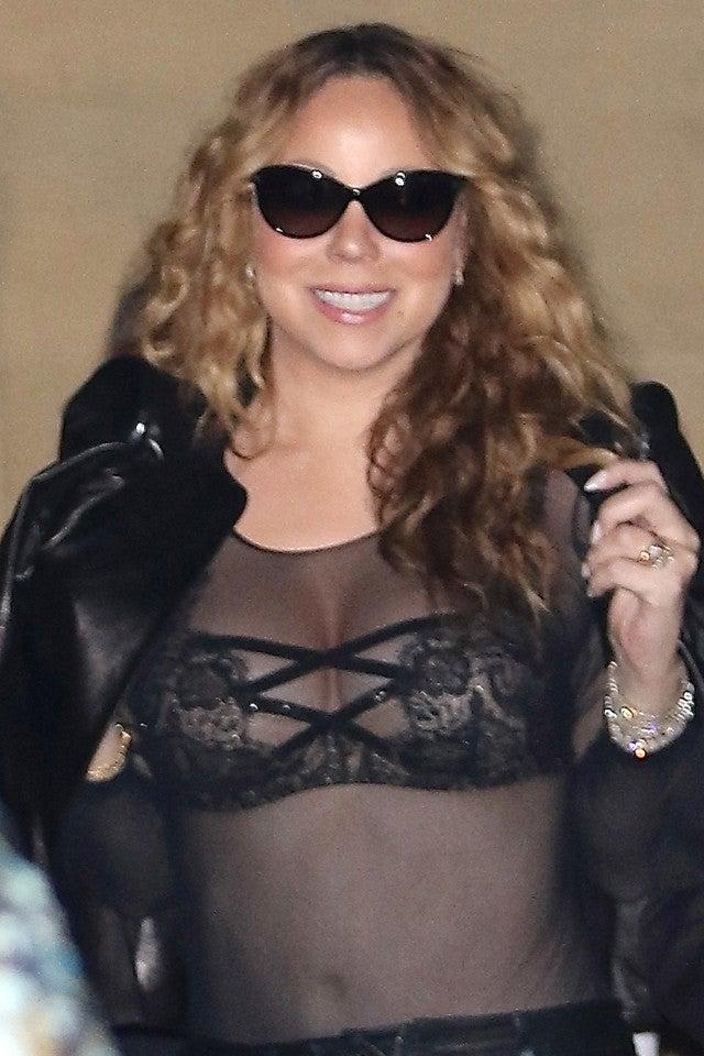 Mariah carey see thru