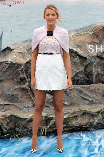 3a4cd283e46 Blake Lively Is the Queen of Fashion at Cannes -- See All Her ...