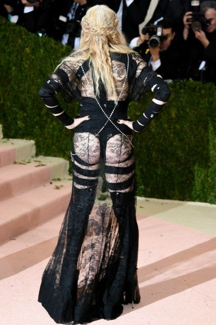 Madonna Bares Her Butt And Boobs In Shocking Nsfw Look At