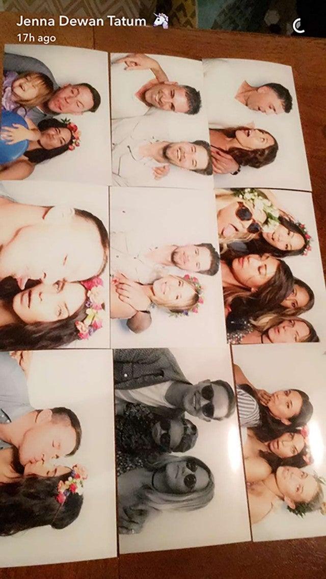 Jenna dewan baby shower pictures