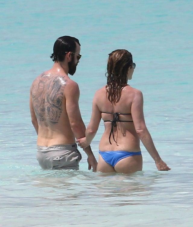 Remarkable, very Jennifer aniston nude beach