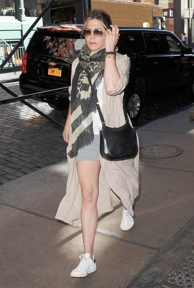 Jennifer Aniston Sparks New Pregnancy Rumors In Bikini On