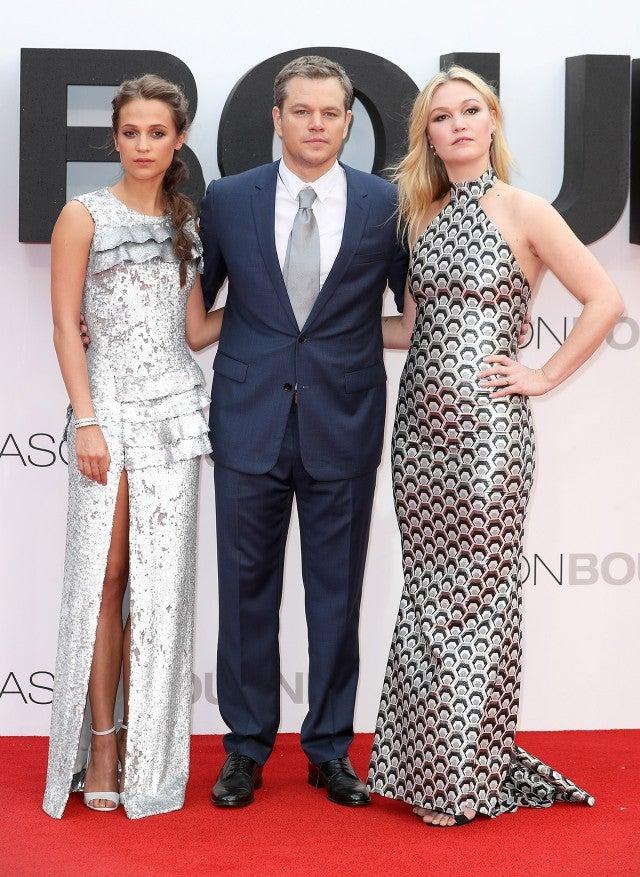 Matt Damon S Wife Luciana Barroso S Legs Steal The Show At