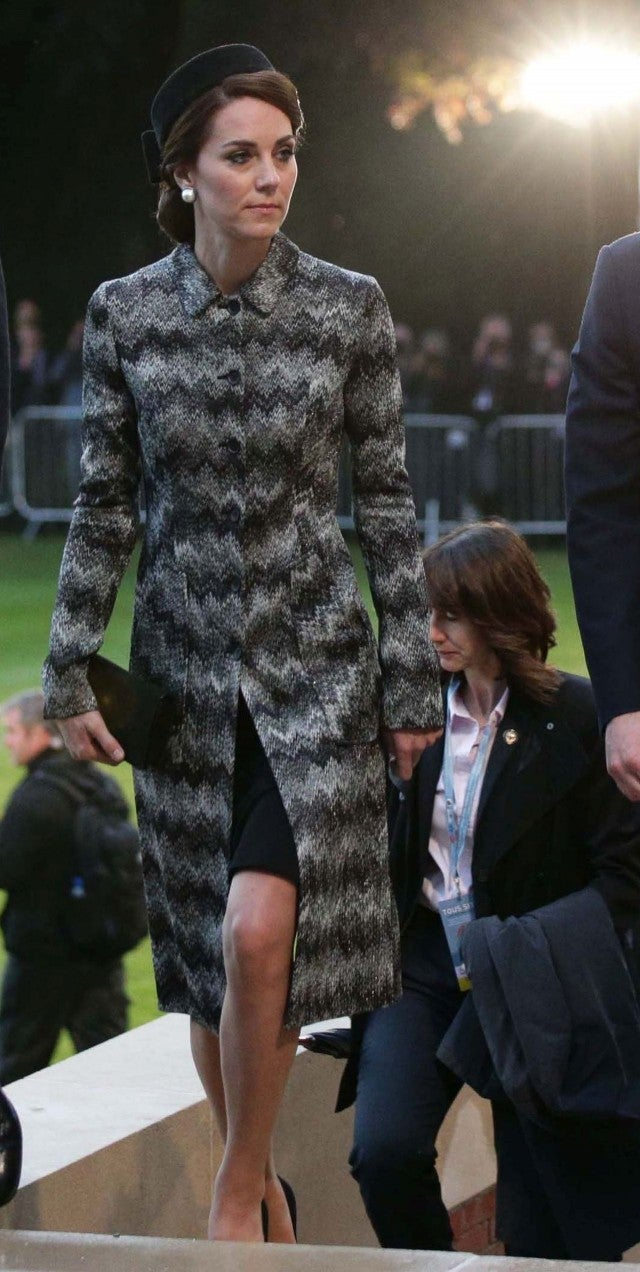 Kate Middleton Wears a Chic Gray Coat to Church with the Queen, as Prince George Goes on His First Grouse Shoot Kate Middleton Wears a Chic Gray Coat to Church with the Queen, as Prince George Goes on His First Grouse Shoot new pics