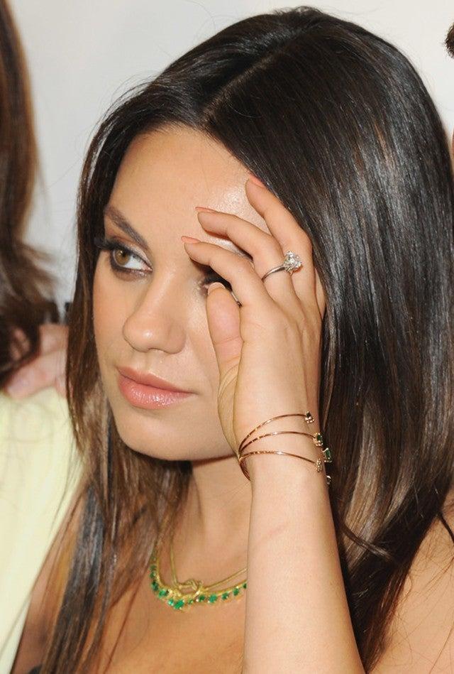 Mila Kunis Reveals She And Ashton Kutcher Got Their