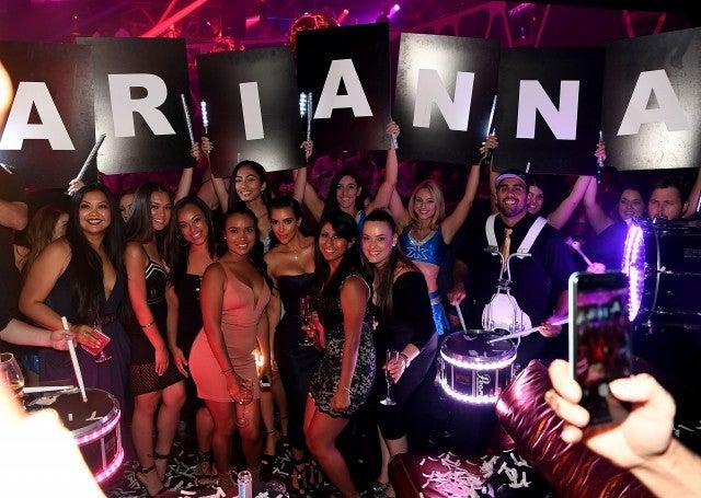 Kim Kardashian Enjoys Girls Night Out In Las Vegas After