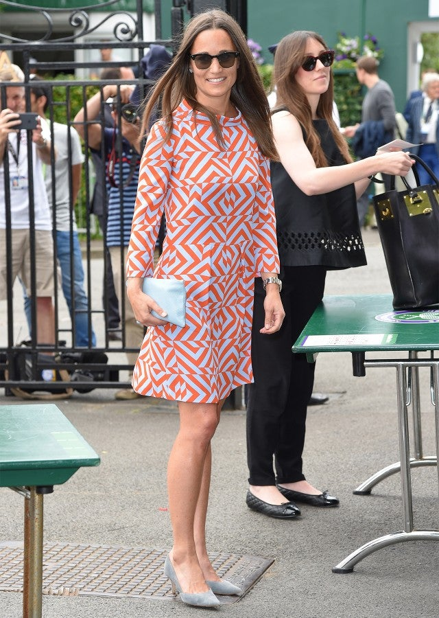 Pippa Middleton Continues Her Reign As Wimbledons Fashion Queen In