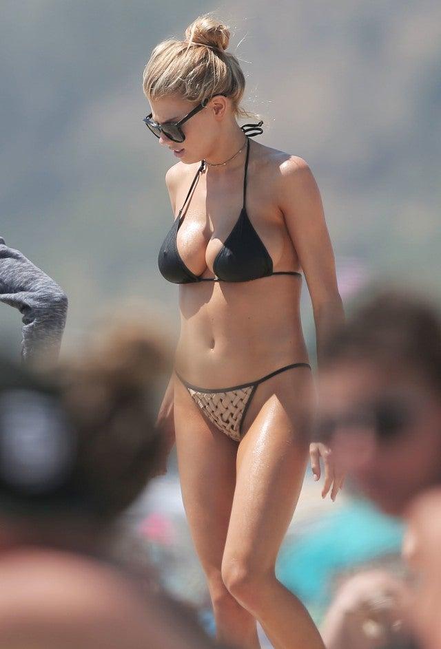 image Bella thorne bikini dancing with hot blonde friend