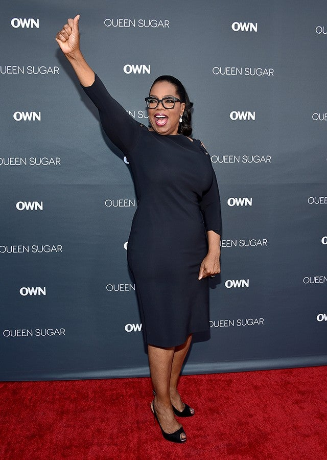 Exclusive Oprah Winfrey Flaunts Weight Loss In Perfect