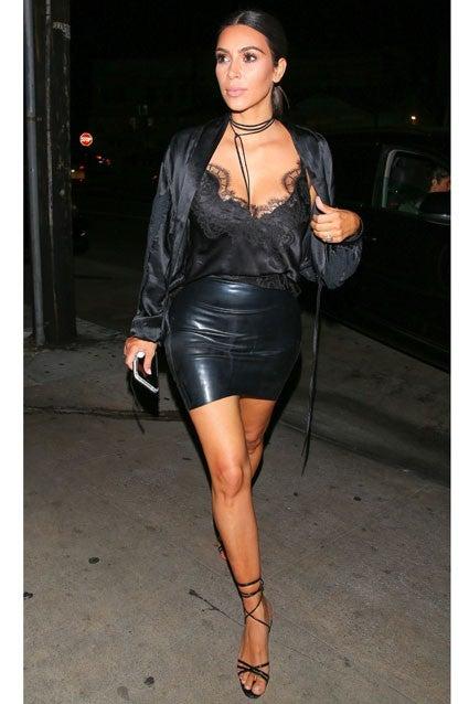Ariel Winter Channels Kim Kardashian In A Lacy Bralette