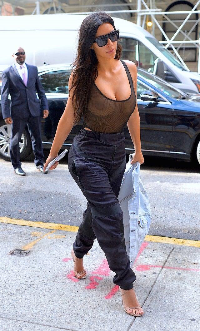 Nsfw Kim Kardashian Doesn T Gaf What You Think About