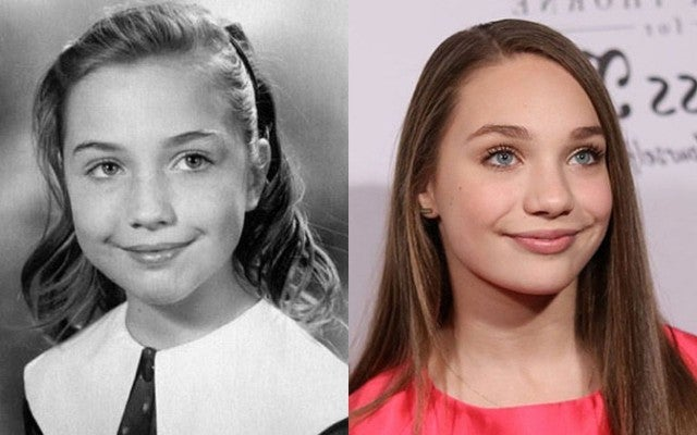 Young Hillary Clinton And Maddie Ziegler Are Basically