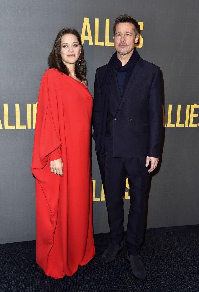Brad Pitt And Marion Cotillard Dazzle At Allied Photo Call See