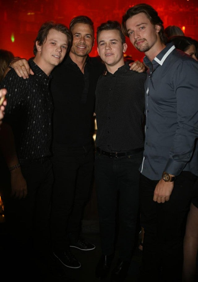 Rob Lowe Celebrates Son Johns 21st Birthday In Vegas See The