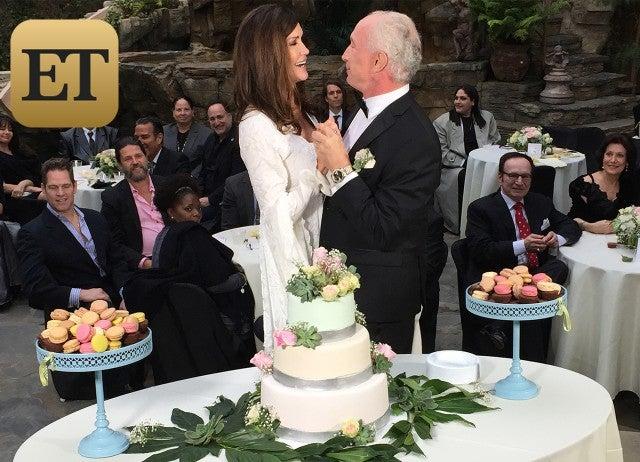 Exclusive Janice Dickinson Marries Dr Robert Gerner In