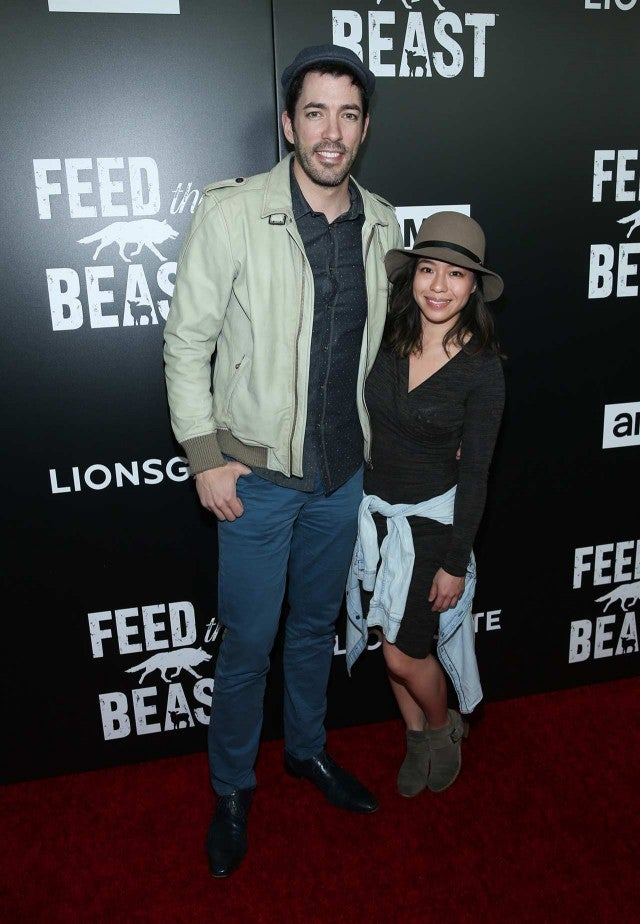 39 property brothers 39 star drew scott engaged to longtime girlfriend linda phan entertainment. Black Bedroom Furniture Sets. Home Design Ideas